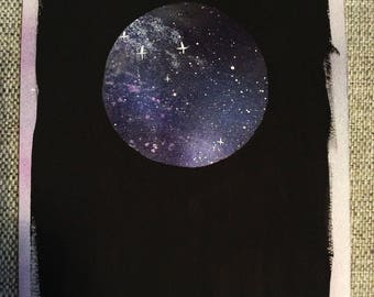 Galaxy Moon Paintings