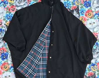 XL black jacket made in USA