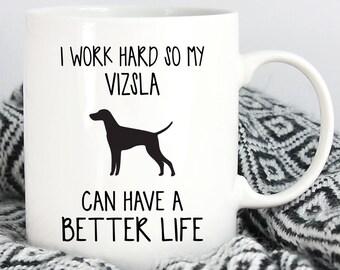 Vizsla Mug, Vizsla Gifts, Dog Mug, Coffee Mug, Dog Lover Gift, Funny Dog Mug, Mug, Funny Mug, Pet Mug, Dog Cup, Dog Coffee Mug, Dog Lover