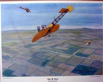 1913 Adolphe Pegoud 1st Loop the Loop Bierlot Type XI Looper