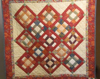 Quilted table topper or wall hanging