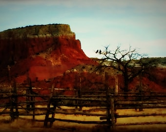 Ghost Ranch IV: Canvas Wall Art
