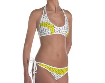 Albino Ball Python Bikini
