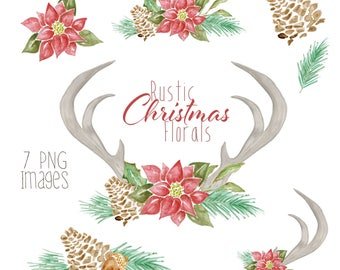 Rustic Christmas Florals