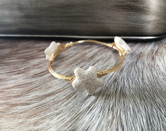 Starfish Shell Bangle