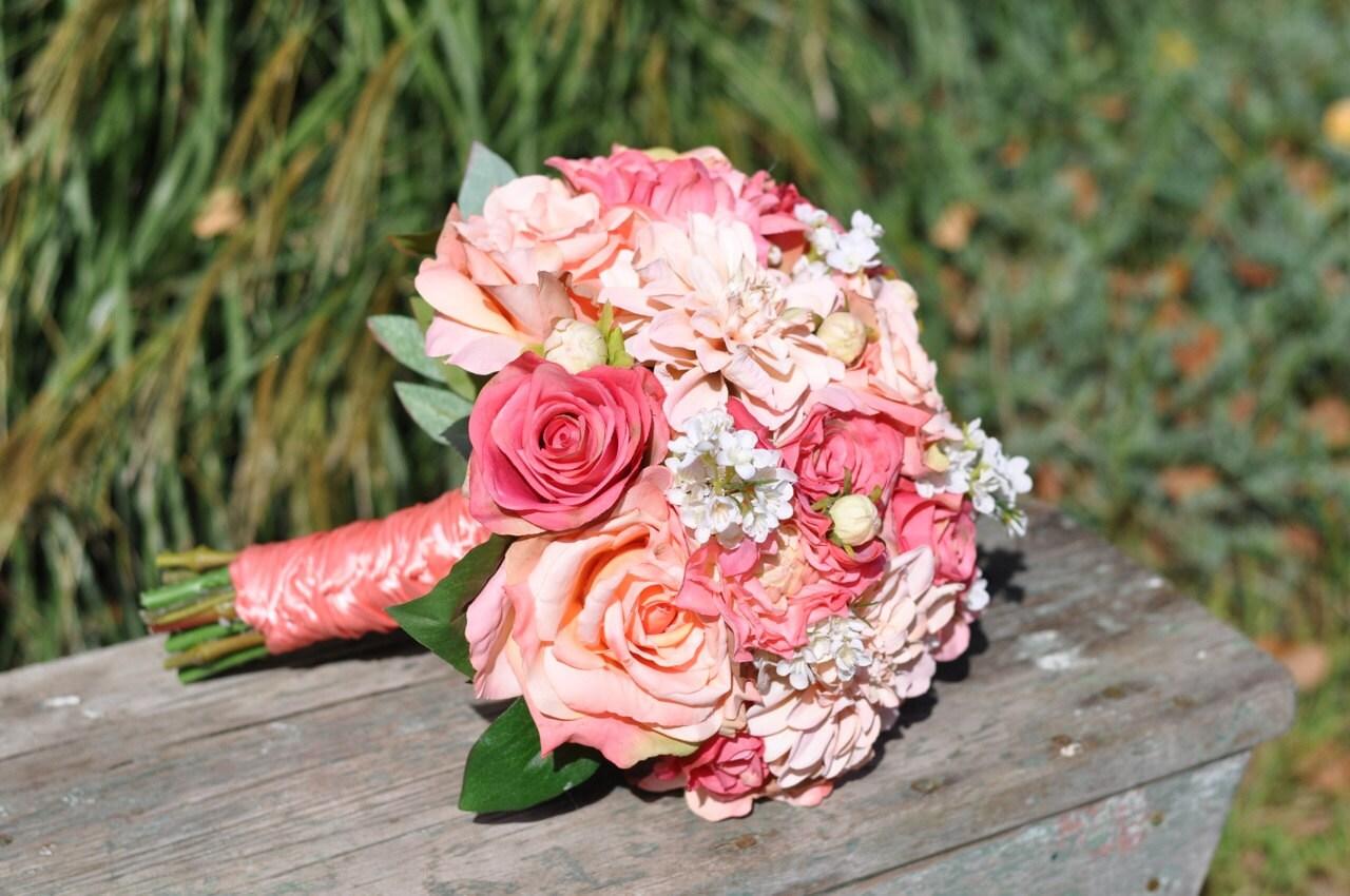 Wedding Flowers Summer Wedding Bouquet Keepsake Bouquet