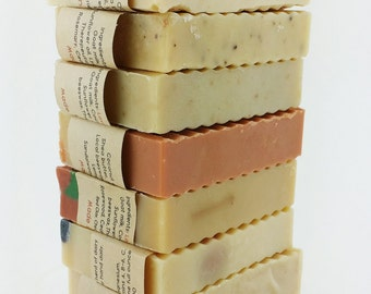 10 bars - Full Batch Goat Milk Soap
