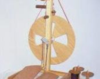 Fricke S-160-DT - Double Treadle Spinning Wheel Bonus Item