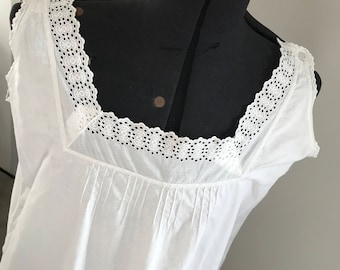 Antique Nightgown, Camisole, tank top,