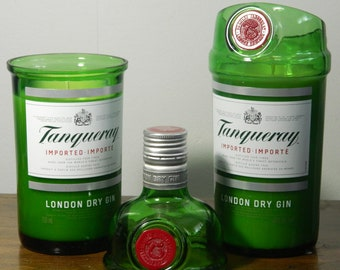 Repurposed Tanqueray Gin Candle