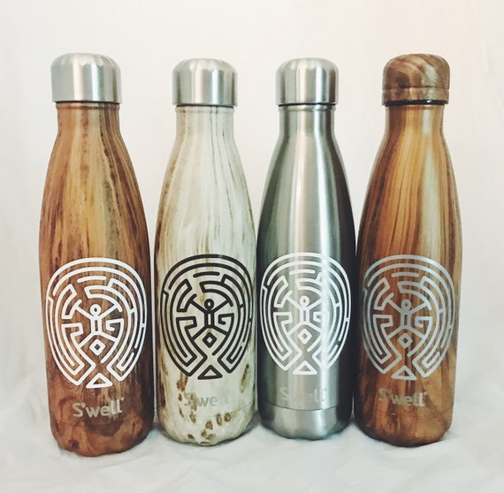 Westworld Teakwood S'well Bottle - Wedding, Christmas, Anniversary, Valentine's Day, Christmas, Bridesmaids Swell Bottle
