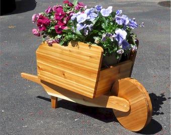 Garden Flower Wheelbarrow