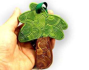 Palm tree ornament, tropical Christmas ornament, Hawaiian Christmas ornament, Florida keepsake, filigree ornament, desert ornament