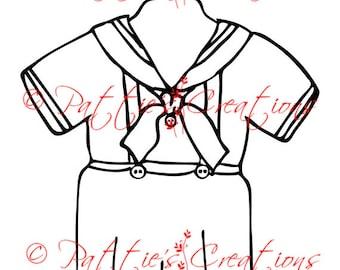 Little Boy Sailor Suit
