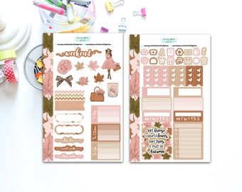 Mini Fall for Personal Sized Planners, Penpal and Journalling Stickers