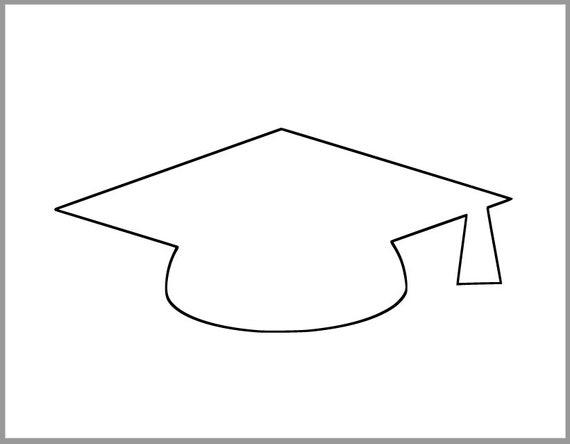 Lucrative image inside graduation hat template printable