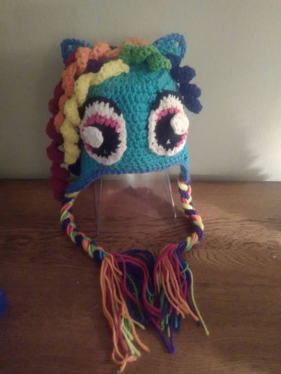 My Little Pony Crochet Hat