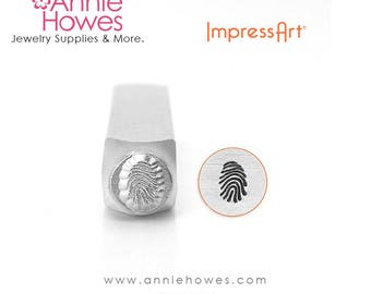 Impressart Metal Stamp  - FINGERPRINT Design