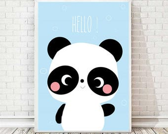 Panda Paule print