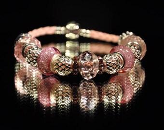 Pink Sparkler ~ Bracelet