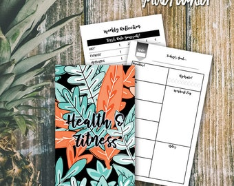 WIDE/CAHIER  >>  Health & Fitness Journal  >>  TN Health and Fitness Insert  >>  Health Journal + Fitness Log