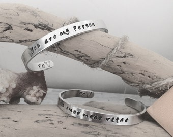 Personalized bracelets, custom made for you