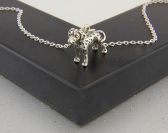 Dalmatian Necklace in Sterling Silver.