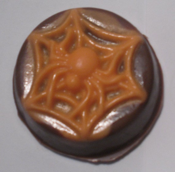 Chocolate Covered Oreos Halloween Skulls and Spiders