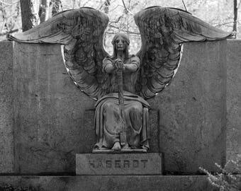 Angel of Death, 8x12, fine art print