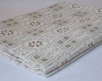 Natural tablecloth, Vintage Tablecloth, Natural Linen Tablecloth, Light gray tablecloth, Natural Flax tablecloth