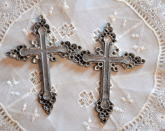Gothic Cross Pendant Ready for Steam Punk Conversion
