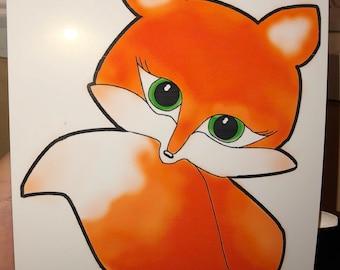 Peanut the Fox Print