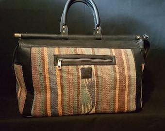 Weekender Kilim bag 12 x 20 x 9