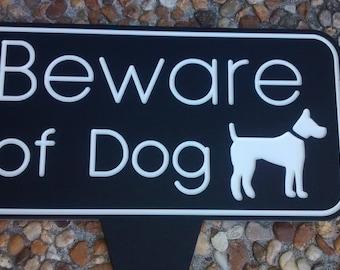 Top Beware of dog sign | Etsy SS69