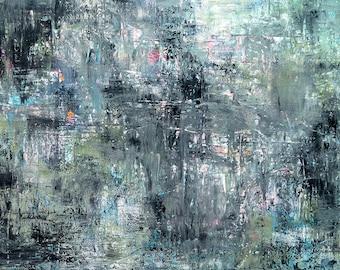 High quality abstract art print - Dwelling
