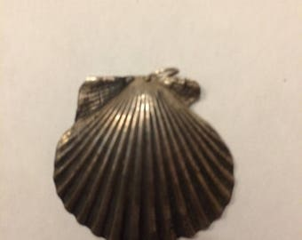 Silver Scallop Shell