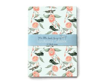 Hummingbird Custom Bullet Journal - Traveler - Notebook - Exercise Book
