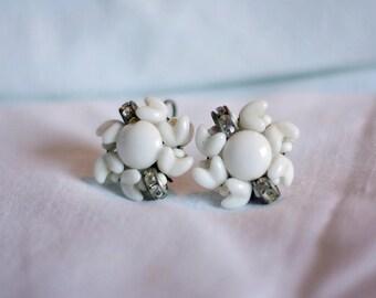 Vintage German screw back earrings