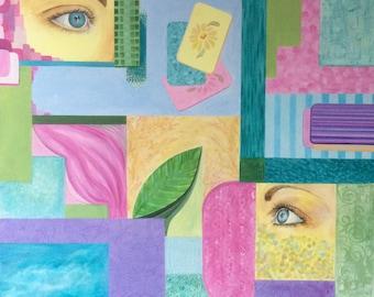 Spring - original acrylic eyes