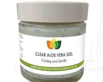 Clear Aloe Vera Gel Cooling & Gentle