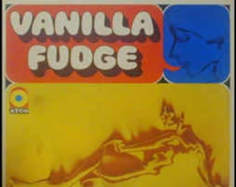 Vanilla Fudge  - Self Titled Vinyl Album (1967)