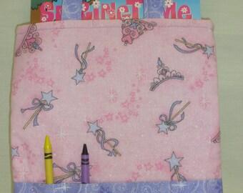 Princess Sparkle Crayon Tote
