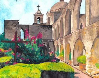 Landscape Painting, Landscape Painting Original, Custom Landscape Painting, Custom House Portrait, Watercolour Painting, Custom Painting