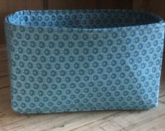Firm Fabric Storage Organizer Bin | Various sizes | Pick your fabric