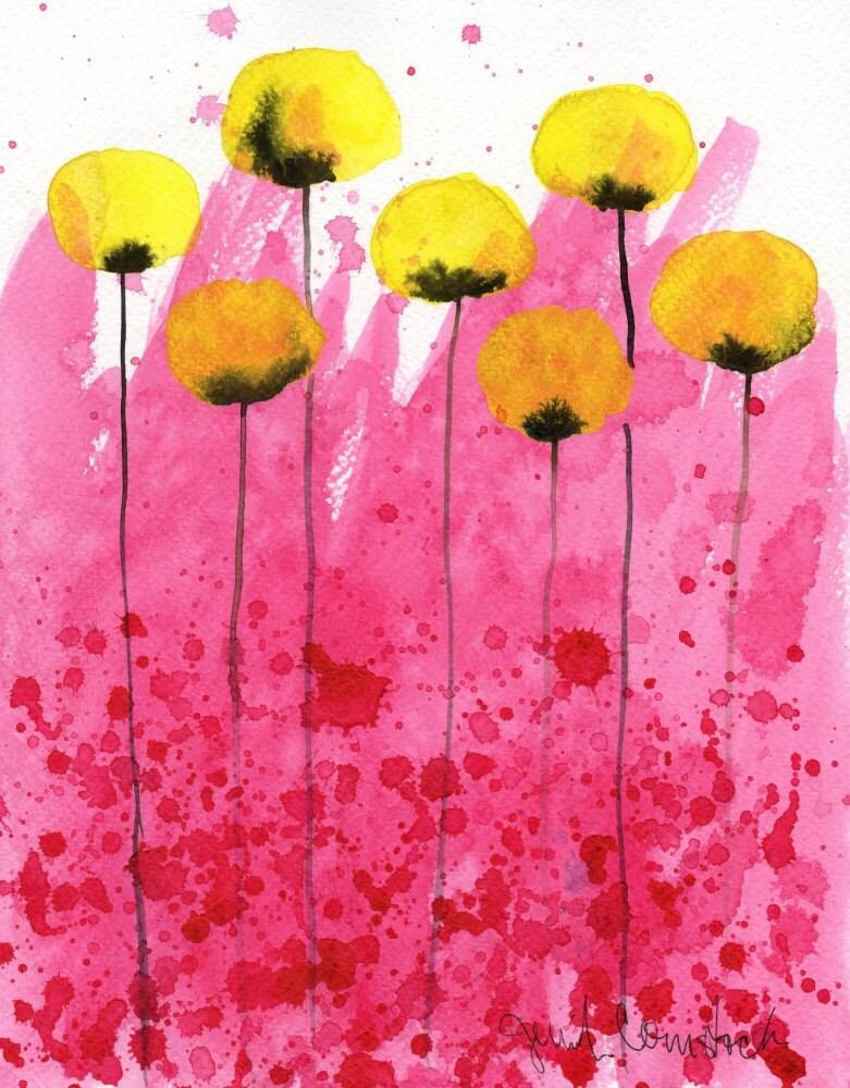 Watercolor painting watercolor flower painting art print zoom mightylinksfo