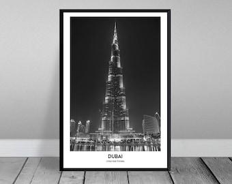 Dubai-Burj Khalifa (XXL & XXXL)