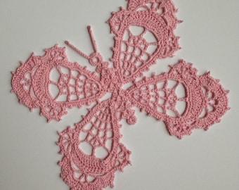 Instant download - Crochet PATTERN (pdf file) – Butterfly of Paradise -  Pattern