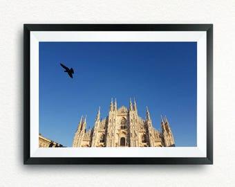 Poster of MIlan, Duomo, photo paper, canvas print, aluminum, methacrylate, PVC