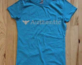 Bee Authentic Women's and Girl's Tee