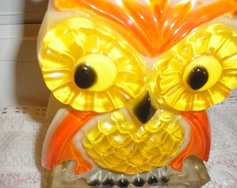 Resin Owl Napkin or Letter Holder